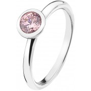 Hot Diamonds Inel din argint Emozioni Scintilla Pink Compassion ER017 54 mm