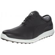 Puma Men's Ignite Spikeless Golf Shoe Black-Glacier Gray 11 D(M) US