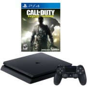 Конзола PlayStation 4 Slim 500GB Black, Sony PS4+ Игра Call of Duty: Infinite Warfare за Playsation 4