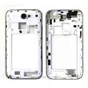 Frame ou carcaça traseira Samsung Galaxy Note II 2 Silver