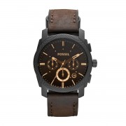 Fossil Zegarek FOSSIL - Machine FS4656 Dark Brown/Black