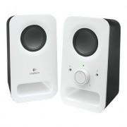 Logitech Głośniki Multimedia Speakers Z150 Czarno-biały
