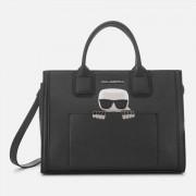 Karl Lagerfeld Women's K/Ikonik Kklassik Tote Bag - Black