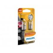 SET 2x Bec auto Philips VISION 12821B2 R5W BA15s/5W/12V