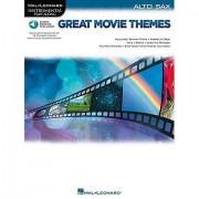 Hal Leonard Great Movie Themes for Alto Sax Play-Along