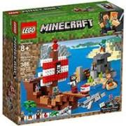 LEGO Kocke Minecraft - Piratski brod 21152