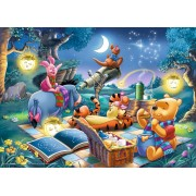Puzzle Ravensburger - Winnie the Pooh - Looking at the Stars, 1.000 piese (15875)