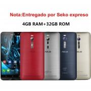 Celuares Asus Zenfone 2 ZE551ML Android 5.0 Quad-Core 16GB/4GB Ram 3G Smartphone Desbloqueado