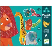 Puzzle gigant Djeco animale jungla