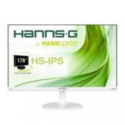 """Монитор Hannspree HS 246 HFW, 23.6""""(59.94 cm), LED панел, Full HD, 7ms, 1000:1/80M:1, 250 cd/m2, VGA, HDMI, бял"""