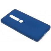 Color Backcover voor Nokia 6.1 - Donkerblauw
