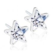 Blomdahl Gioiello Mp Star 6mm Crystal