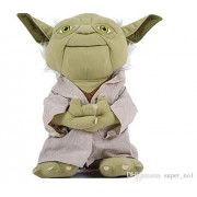 "Star Wars 9"" Anime Animal Stuffed Plush Toys Yoda"