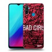 Átlátszó szilikon tok az alábbi mobiltelefonokra Realme C3 - Bad girl