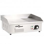 vidaXL Tavă electrică din oțel inoxidabil, 3000 W, 54 x 41 x 24 cm