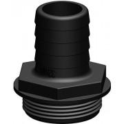 Tru-design Slangsockel till y-ventil 32mm svart