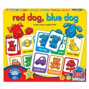 Joc educativ loto in limba engleza Catelusii RED DOG BLUE DOG