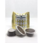 Barbaro 100 Capsule Bialetti Compatibili Caffè d'Italia Barbaro Arabica