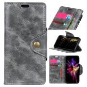 Retro Series Sony Xperia L3 Wallet Case - Grey