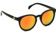 6by6 Round Sunglasses(Golden)