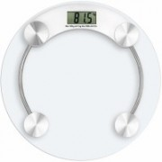 Recombigen Electronic Thick Tempered Glass Electronic Digital Personal Bathroom Health Body Weight Weighing Scale Weighing Scale(White)