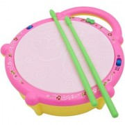 Kids Flash Drum Set With Music and Lights Electronic Touch Flash