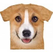 The Mountain Honden T-shirt Welsh Corgi Pembroke voor volwassenen