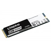 Kingston KC1000 Ssd 960Gb, NVMe, PCle, Gen2 x4, M.2 2280