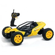 Kidi Race Racing Buggy Remote Control Car Yellow Fun And Easy To Control