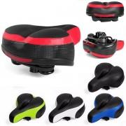 Meco Wide Big Bum Road MTB Bike Saddle Bike Bicycle Seat Cushion Shockproof And Reflector