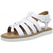 Clarks Women's Lydie Kona White Fashion Sandals - 4.5 UK/India (37.5 EU)