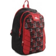 High Sierra Canine Backpack(Black, Red)
