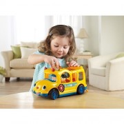 Fisher-Price - Little People Lil' Movers School Bus with Sofie, Koby & Eddie