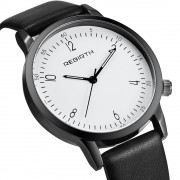 Classic New Fancy Unisex 4.2 CM Men Women Quartz Analog Fashion PU Leather Strap Sports Dress Business Wrist Watch Watches