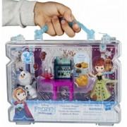 Frozen Anna Chocolate Shoppe E0235 set de joaca cu minipapusa si Olaf