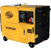 Generator KIPOR SUPERSILENT KDE 6700 TA3, 6 kVA, diesel