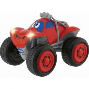 Masina RC Chicco Jeep Billy Big Wheels, rosie, 2+ani (617592)