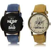 The Shopoholic Black Brown Combo New Collection Black And Brown Dial Analog Watch For Boys Mens Watchs