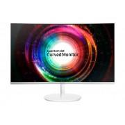"Samsung CH71 Series C32H711QEU - QLED monitor - curvo - 32"" (31.5"" visível) - 2560 x 1440 WQHD - VA - 300 cd/m² - 3000:1 - 4 ms"