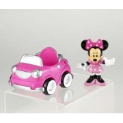 Mattel-Disney Mickey Mouse Clubhouse Minnie Figure & Car Pack