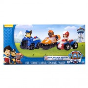 Dubblebla Nickelodeon, Paw Patrol - Rescue Racers 3Pk Vehicle Set Chase, Zuma, Ryder
