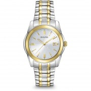 Reloj Bulova 98h18 Para Hombre-Plateado