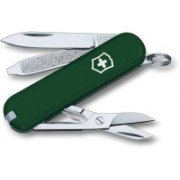 Victorinox Classic SD H Green 3 Function Multi Utility Swiss Knife(Green)