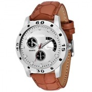 Attractive Stylish Brown speed Collection Print Gift New Watch - For Men by japan