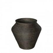 AMAZON Snake Basket, S - Deep brown
