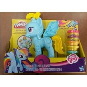 Toys for Children,Hasbro -Play-Doh My Little Pony Rainbow Dash, Style Salon-NIP!! NEW 2014!!