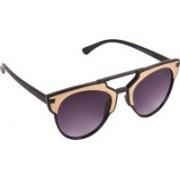 Aligatorr Rectangular Sunglasses(Violet)