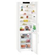 Combina frigorifica Liebherr CN 4015, 356 L, No Frost, Display, Control electronic, Raft sticle, SuperCool , Alarma usa, H 201.1 cm, A++, Alb