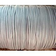 Vaxad Polyestertråd - Grå, 1mm, 1 rulle ca 182 m