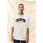 Champion - T-shirt universitaire japonais écru- taille: M